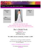 Bea%27s+Bridal+Nook Website