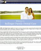 11 Feb 2009  Ballinger Family Dental in Winston Salem, NC -- Map, Phone Number, Reviews,   Photos and Video Profile for Winston Salem Ballinger Family
