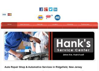 Hank%27s+Service+Center Website
