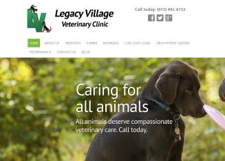Legacy+Village+Veterinary+Clinic-Tiffany+A+Shurtz+DVM Website