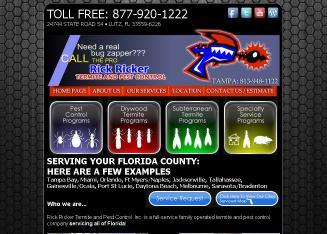 Rick Ricker Termite & Pest Control in Odessa, FL | 2107 Gunn ...