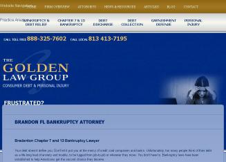 Golden+Law+Group Website