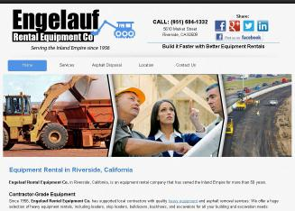 Engelauf+Rental+Equipment Website
