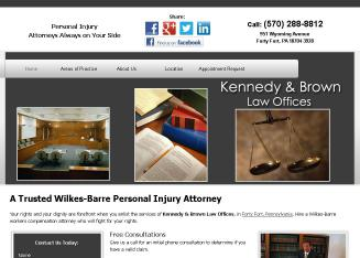 Kennedy+and+Brown+Law+Offices Website