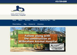 East+Springfield+Veterinary+Hospital Website