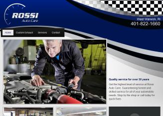 Rossi%27s+Auto+Care Website