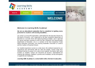 Learning+Skills+Academy Website