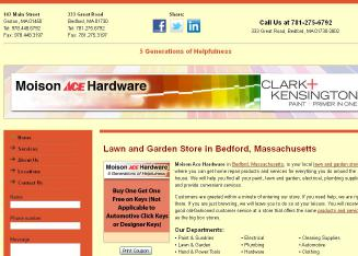 Moison+Ace+Hardware Website
