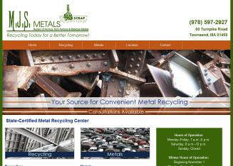 M+J+S+Metals Website