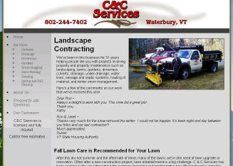 C+%26+C+Services Website