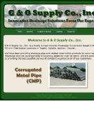 G+%26+O+SUPPLY+CO Website