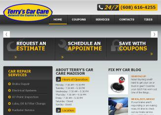 Terry%27s+Car+Care Website