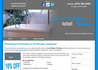 Jarret+Walters+Plumbing Website