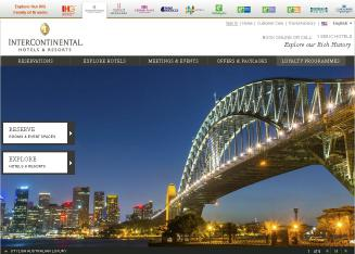 InterContinental+Official+Site Website