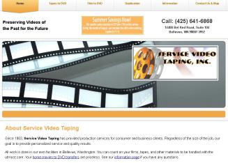 Service+Video+Taping+Inc. Website