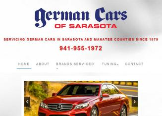 German+Cars+Of+Sarasota Website
