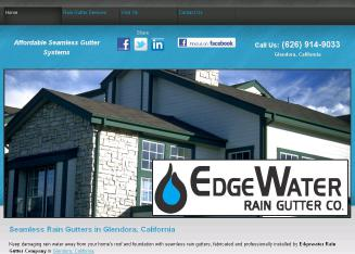 Edgewater Raingutter CO. 420 S Vermont Ave. Glendora , CA , 91741 USA