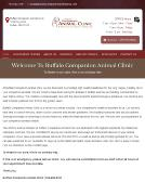 Buffalo+Companion+Animal+Clinic Website