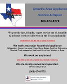 Amarillo Area Appliance