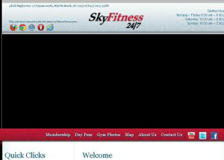 Sky+Fitness+LLC Website