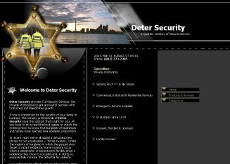 Deter+Security Website
