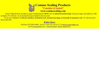 Commo+Sealing+Products Website