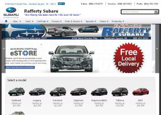 Rafferty Subaru Dealer