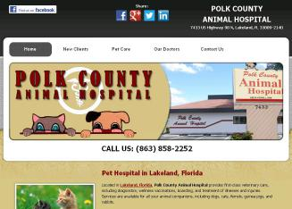 Polk+County+Animal+Hospital Website
