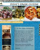 Steve%27s+Greek+Cuisine Website