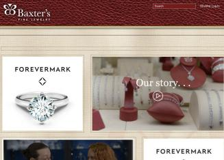Baxters+Fine+Jewelry Website