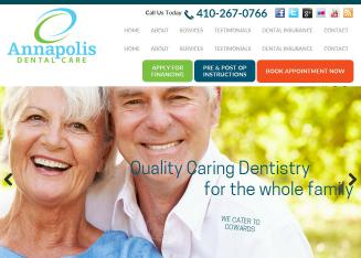 Annapolis+Dental+Care Website