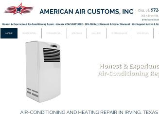 American+Air+Customs Website