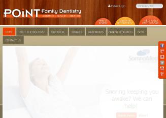 Point+Family+Dentistry+%26+Orthodontics Website