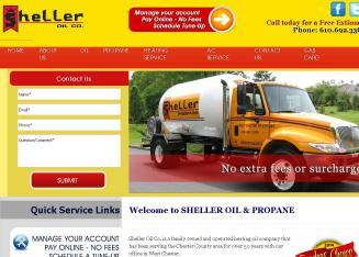 Sheller+Oil+Company Website