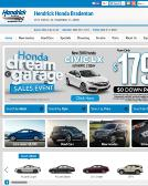 Hendrick+Honda+Bradenton Website