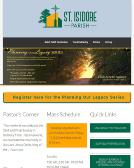 St+Isidore+School Website