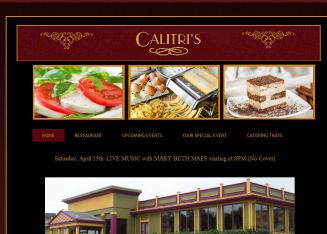 Calitri%27s+Italian+Cuisine Website