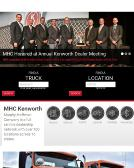MHC+Kenworth Website