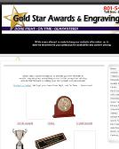 Gold+Star+Awards+%26+Engraving Website