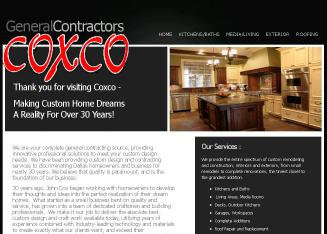 Coxco+General+Contractors+%26+Remodeling Website