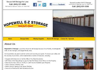 Hopewell+E-Z+Storage Website