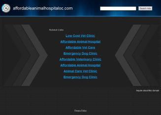 Affordable+Animal+Emergency+Clinic Website