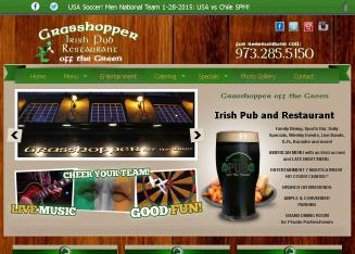 Grasshopper+Off+The+Green+Bar+%26+Restaurant Website