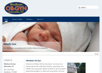 Windham+Ob-Gyn+Associates+PC Website