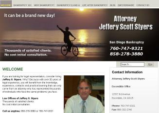 Law+Offices+of+Jeffery+S+Styers Website