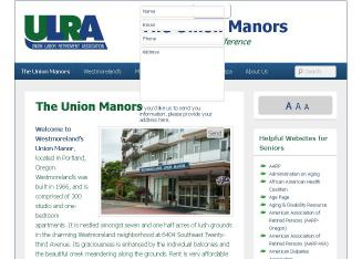 Westmoreland%27s+Union+Manor Website