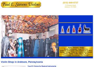 Paul E Stevens Violins