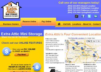 Extra Attic Mini Storage in Richmond, VA - Patterson Location