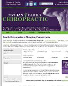 Nathan+Family+Chiropractic Website