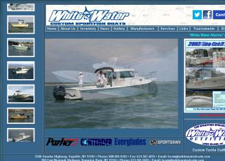 White+Water+Marine+Service+INC Website